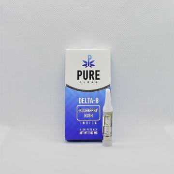 Blueberry Kush Delta 8 Vape Cartridge